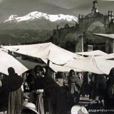 Mercado por el fotografo HUGO BREHME