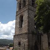 Torre-campanario del ex-convento, siglo XVI. Agosto/2014