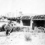 Puente internacional a El Paso, Texas (Bain News Service, c. 1910)