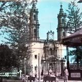 Kiosco y Catedral de Zamora