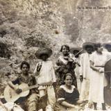 Dia de fiesta en Tampico Tamaulipas Hacia 1930