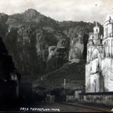 PANORAMA E IGLESIA por el fotografo HUGO BREHME