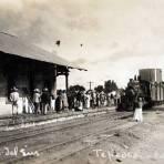 PANORAMA Y ESTACION DEL TREN Hacia 1930