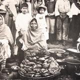 TIPOS MEXICANOS Vendedoras de Camotes
