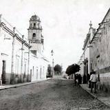 Calle S. Quezada Limón a finales del siglo XIX
