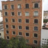 Arquitectura sobre la Av. Juárez. Abril/2015