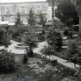 LA PLAZA PANORAMA Circa 1945