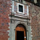 Portada de la parroquia de Compostela. Abril/2015