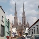 Vista hacia el Santuario de Guadalupe. Abril/2015