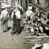 Dia de mercado en El Salto de Juanacatlan Jalisco circa 1939