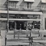 Comercio de A. B. Culver, desde la Plaza de Armas