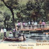 Puente en la Laguna de Nogales