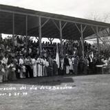 CELEBRACION DEL DIA DE LA BANDERA 24 DE FEBRERO DE 1940