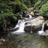 Un afluente del Río Coatán. Julio/2015