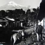 El Pico de Orizaba por el fotografo Hugo Brehme