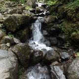 Riachuelo cerca de la cascada La Sirena. Julio/2015
