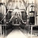 Interior de la Parroquia