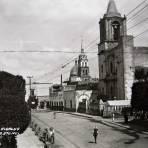 CALLE HIDALGO en Febrero de 1937
