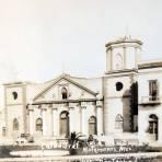 IGLESIA DESTRUIDA DURANTE EL HURACAN DEL 4 DE SEP. DE 1933