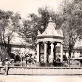 Pátzcuaro, fuente del jardín central