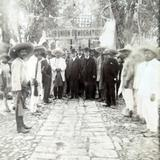 Reunion Politica durante la epoca de Porfirio Diaz Salina Cruz Oaxaca circa 1907