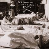 Hospital provisional de la Cruz Blanca para atender a heridos durante la invasión estadounidense de 1914
