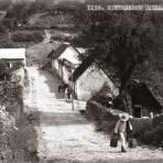 Callejón en Jacala