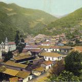 Vista panorámica de Angangueo