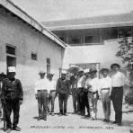 Prisioneros en la Iglesia de Matamoros