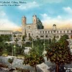 Plaza y Catedral de Colima