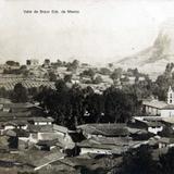 Panorama de Valle de Bravo Edo. de Mexico hacia 1930-1950