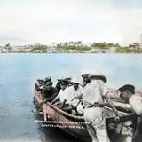 Transportando el pasaje al Puerto circa 1930-1950