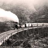 Paso de San Francisquito Via Ferrea hacia 1900- 1930
