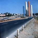 Las Torres de Satélite en 1966