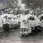 Desfile del Centenario de la Independencia de Mexico 16 de Septiembre de 1910 alrededor de 1910