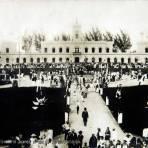 La Penitenciaria Juarez el dia de la Inaguracion Merida circa 1900-1920