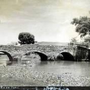 El Puente de Puga en el Rio de Tepic