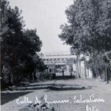 Escena callejera en la Calle de Guerrero Hacia 1920-1940