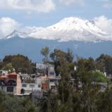 Montaña La Malinche nevada. Febrero/2016