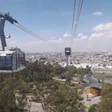 El teleferico de Puebla. Febrero/2016