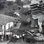 Escena Callejera en Cosautlan Edo de Veracruz 17 de Octubre de 1927