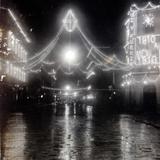 Calle cinco de Mayo en celebracion del primer centenario 15 de Septiembre de 1910