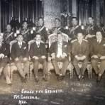 Calles y su Gabinete Circa 1927