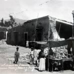 Sismo acaecido en 1931 Esquina de Mier y Teran con Trujano
