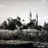 Parque Gudiana e Iglesia de Los Angeles (Alla por 1930-1950)