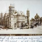 La Villa de Guadalupe Por el fotografo Abel Briquet Fechada el dia 20 de Junio de 1904
