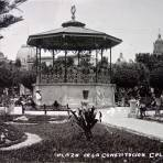 Plaza de la Constitucion 1900-1920