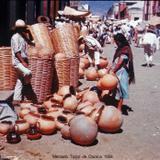 Mercado Tipico de Oaxaca 1958