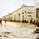 Calle 20 de Enero INUNDACION acaecida el dia 26 de Junio de 1926