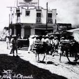 Avenida Guerrero frente al Mercado Lugar desconocido